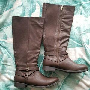 Brown Calf Boots